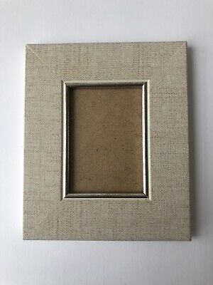 NEW Quality wooden ACEO Art/sports card 3.5 x 2.5 Gray frame