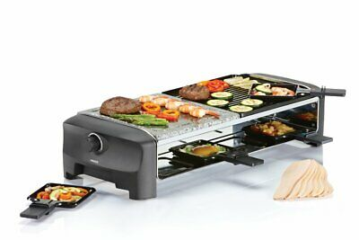 Princess 01.162820.01.001 Raclette 8 Stone et Grill Party 54,70 x 22,80 x 13 cm