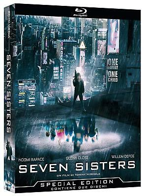 What Happened to Monday [2017](Blu-ray)~~~aka Seven Sisters~~~Noomi Rapace~~~NEW