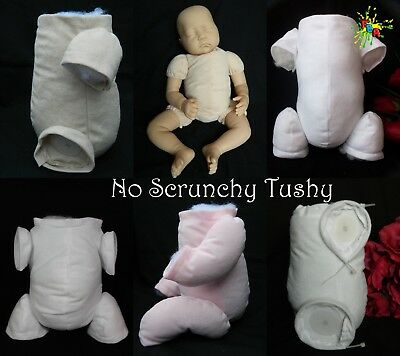 """Non-Fray """"doe Suede""""  *no Scrunchy Tushy Bodies* Various Colours, Limbs & Sizes"""