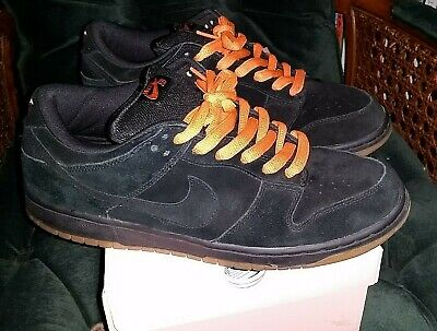 huge selection of 94206 a2e24 NIKE SB DUNK Low Pro Halloween Black Pack Pink Box Gum Size 11.5 Only Worn  2X!