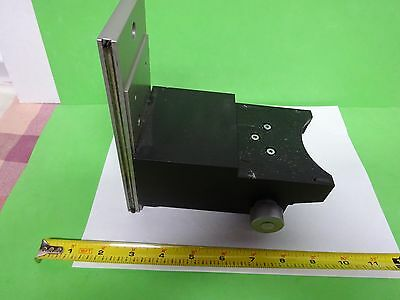 Microscope Pièce Polyvar Reichert Leica Support Stage Table Tel Quel Bin #