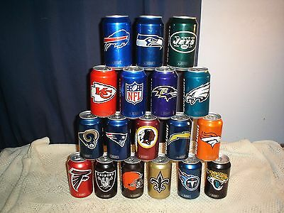 75bb525ff Bud Light 2016 NFL Kickoff Beer Can Pick Your Team Packers Raiders Chiefs  Steele