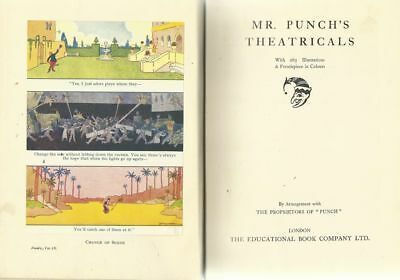 vintage 1930s Mr. Punch's Theatricals - from the New Punch Library, volume 9