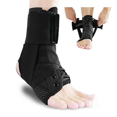 Ankle Brace Support ASO Foot Stabilizer Sports Compression Wrap Orthosis