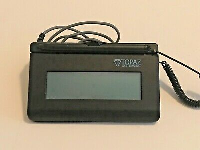 T-L460-HSB-R Topaz SigLite LCD Signature Capture Reader Pad -- SHIPS FREE