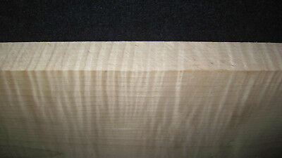 """6/4  EXTREMELY Super CURLY TIGER MAPLE  Lumber  21"""" x  7  1/4"""" x  1  3/8"""""""