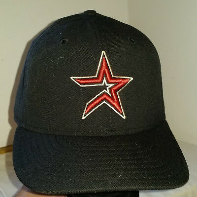 best service 73cc0 1e830 Houston Astros Hat Wool New Era Pro Baseball Cap 7 3 8 Fitted 2000-