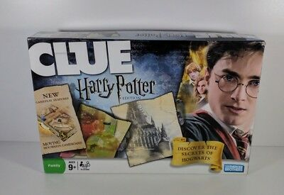 Clue Harry Potter Board Game Hasbro 2008 100% Complete