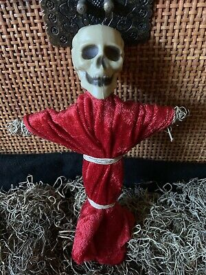 Authentic Voodoo Doll Red/With Pins #2