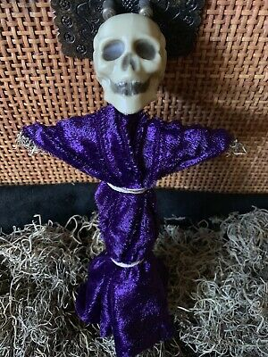 Authentic Voodoo Doll Purple/With Pins #2