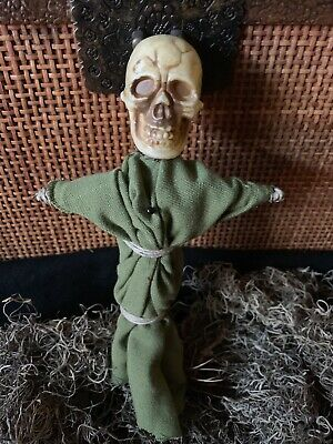 Authentic Voodoo Doll Light Green/With Pins #3