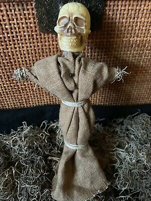 Authentic Voodoo Doll Brown/with Pins #3