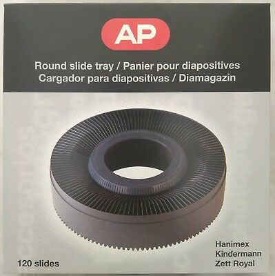 AP Hanimex 120 Rotary Slide Magazine, holds 120 Slides for Hanimex Projector