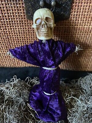 Authentic Voodoo Doll Purple/With Pins #3