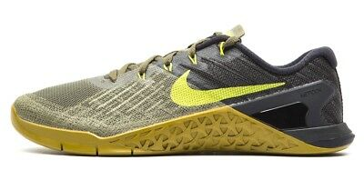58dad604654818 Nike Metcon 3 Men s Training Shoe - Medium Olive Bright Cactus Black Size 15