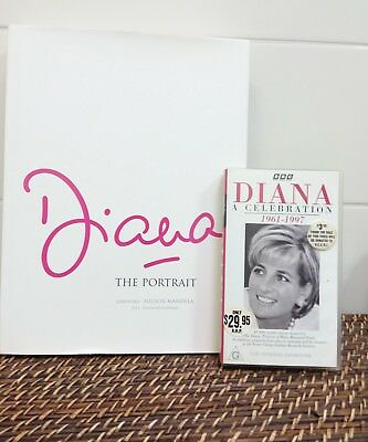 Diana the Portrait foreward by Nelson Mandela text by Rosalind Coward and Diana