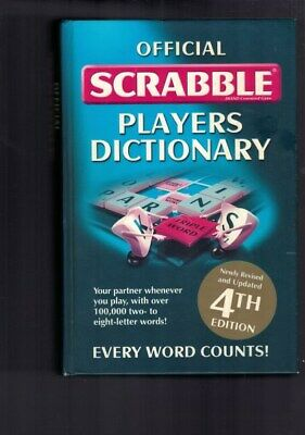 Official Scrabble Players Dictionary - 4th Edition (Hardback)