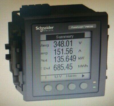 Schneider PM5310 POWERMETER WITH MODBUS Upto 31st H, 256K 2DI/2DO 35-Alarms