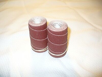 2 Precut sanding wraps//rolls for Performax Jet 10-20 Drum Sander.150 Grit.