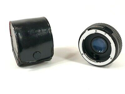 Soligor MP Auto Tele Converter Teleconverter 2x to Fit Nikon EM Japan SLR
