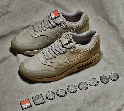 "best service 07a0f 89b5c Brand New Ds Nike Air Max 1 V Sp ""Patch"" Sz 11 Green"