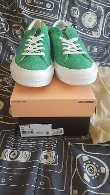 10e36e86d6b0 Tyler The Creator x Converse One Star Golf Le Fleur Jolly Green mens size 12