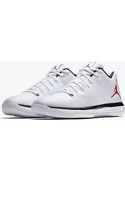 the best attitude 41286 08da8 NEW Nike Air Jordan 31 XXXI Low Men s 16 White University Red Black 897564 -101