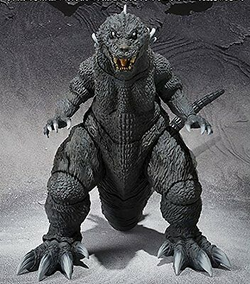 Godzilla, Mothra, King Ghidorah large monster attack S.H.MonsterArts 2001 Figure