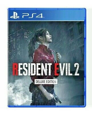 NEW, SEALED Resident Evil 2 Deluxe Edition PlayStation 4 FREE SHIP & BEST OFFER