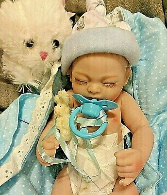 Micro Preemie Baby Boy   Anatomical Altered To  Take A Pacifier With Extras💓💖