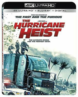 The Hurricane Heist **4K Blu Ray Disc Only**unwatched Like New Read Description