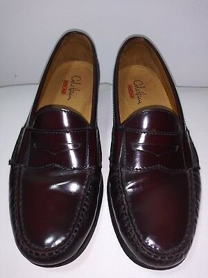 41479a09bda COLE HAAN Men s Slip On Penny Loafer Air Shoes Size 7M Burgundy