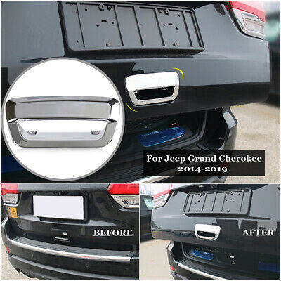 Chrome Rear Door Tailgate Handle Cover Trim for Jeep Grand Cherokee 2011-2014