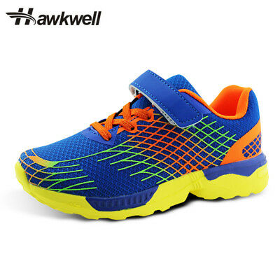 Hawkwell Kids Comfortable Hook And Loop Sneakers Girls Boys Casual Running Shoes