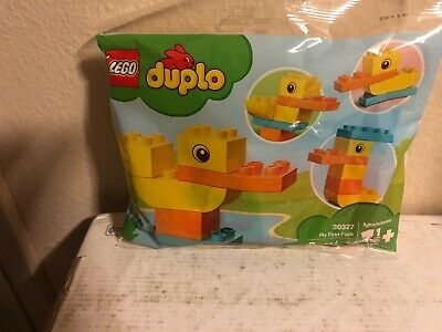 Lego Duplo Easter Set My First Duck Polybag 303276 Pcs Rare Htf New