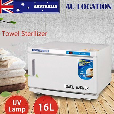 16L Hot UV Towel Warmer Sterilizer Cabinet Disinfection Facial Spa Salon LF