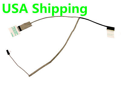 New Compatible for Asus X553M X553MA X553MA-BPD0705I X553MA-DH91 X553 15.6 40Pin p//n 1422-01WW0AS 1422-01VY0AS 14005-01280900 Lvds Cable Wedge Original LVDS LCD LED Flex Video Display Screen Cable