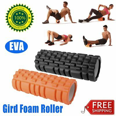 Eva Physio Foam Roller Yoga Pilates Gym Exercise Trigger Massage 33 x 14CM RO