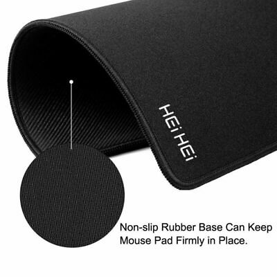 Black Anti Slip  Gaming Mouse Pad Gel Mat Mouse Mice Pad Computer PC Laptop Soft