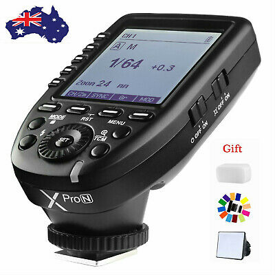 AU Godox XPro-S 2.4G TTL X System Wireless Flash Trigger+Gift for Sony Camera