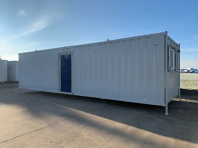 Portable Cabin, Site Canteen, Portable Office, Steel Cabin, 32 x 10 (2008)