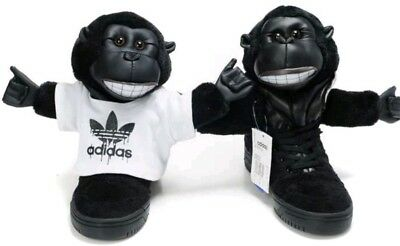 reputable site 01eea 79756 Adidas Jeremy Scott Gorilla trainers size uk9.5 eu44