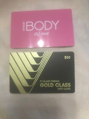 Cotton On Body And Village Gold Class Gift Cards