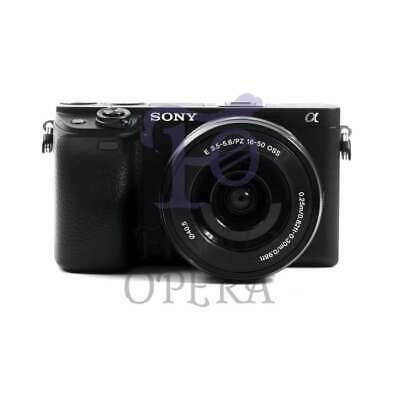 Autentico Sony Alpha a6400 Mirrorless Digital Camera with 16-50mm Lens (Black)