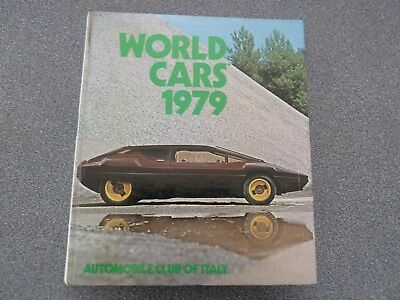 Book World Cars 1979 Automobile Club of Italy Hard Cover