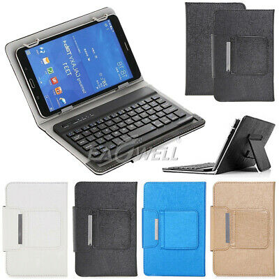 """For Huawei MediaPad T5 10.1"""" inch 2018 Leather Stand Case Cover WITH Keyboard"""