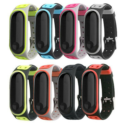 New Replacement Silica Gel Wristband Band Strap For Xiaomi Mi Band 3 Bracelet