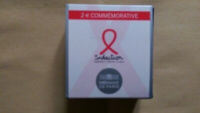 """France 2014 2€ BE """"Sidaction"""""""