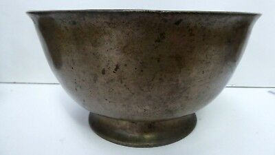 Antique Chinese Bronze Censer Incense Burner Bowl